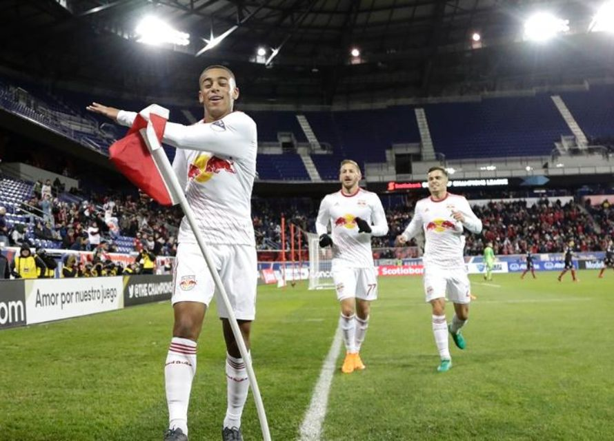 New York Red Bulls midfielder Tyler Adams